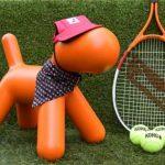 Smart K9 Boutique - Wimbledon Dog Bandana, Baseball Hat and Kong Tennis Balls 2018